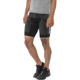 X-Bionic The Trick Pantalones cortos running Hombre, black/anthracite